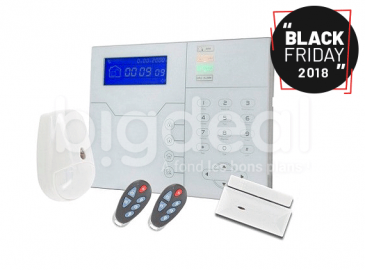 Black Friday : un système d'alarme complet à 518 DT chez Golden Eye Security