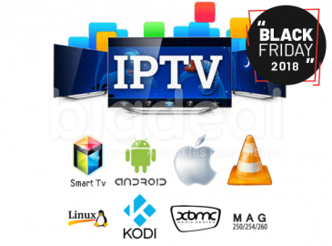 Black Friday : un abonnement Xtream IPTV 1 an à 39 DT seulement chez Golden Eye Security